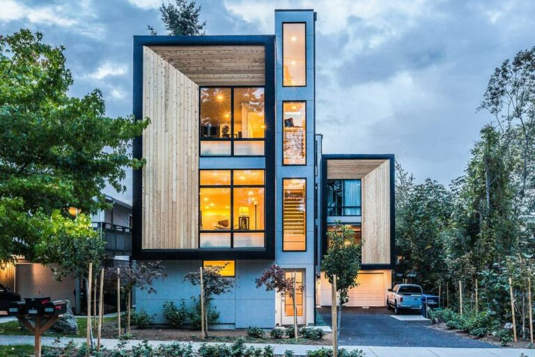 Modern Townhouse Designs